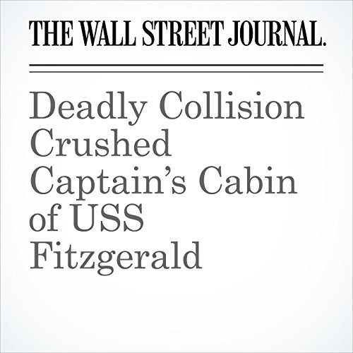 Deadly Collision Crushed Captain's Cabin of USS Fitzgerald copertina