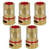 Wismec WV-M Coils (0,3 Ohm), Riccardo DL Mesh Verdampferköpfe für e-Zigarette, 5 Stück