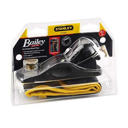 Stanley 512020 Rabot de coupe avec étui 23 cm