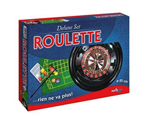 Noris Simba 606104613 Roulette Deluxe set 606104613-Roulette-Deluxe, meerkleurig