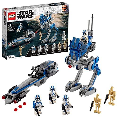 LEGO 75280 Star Wars Soldados Clon de la Legión 501 Juguete de Construcción