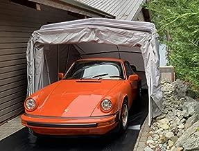 Ikuby All Weather Proof Medium Carport, Car Shelter, Car Canopy, Car Garage, Car shed, Car House, Car Park, Foldable, Retractable, Lockable, Durable Shelter