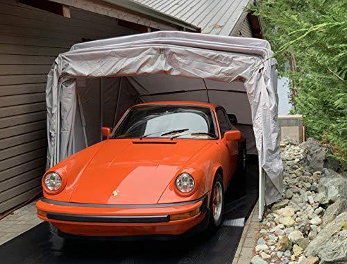 Ikuby Medium Carport, Car Shelter, Car Canopy, Car Garage, Car shed, Car House, Car Park, Foldable, Retractable, Lockable, Durable Shelter