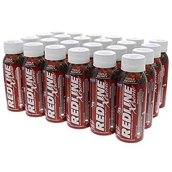 Redline Xtreme Energy Drink Triple Berry 24/ 8 oz btls