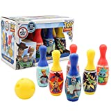 Juego de Bolos para niños de Forky, de la película Toy Story 4. Incluye 6 Bolos y 1 Bola. Juegos de ...