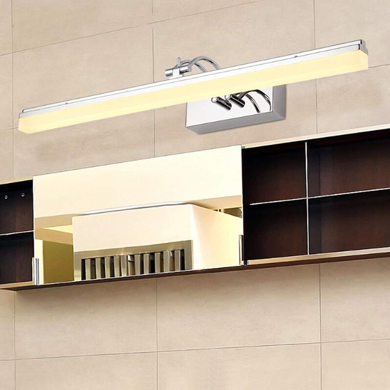 LAZ Badmbel-Leuchte , Moderne LED-Schminkspiegel-Wandleuchte für Ankleidezimmer, Küche und Flur (Farbe   Cool Weiß-39cm)