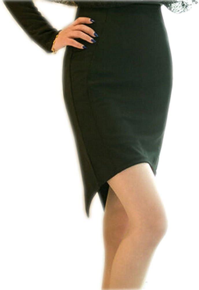 Black Elegance Women's Skirt Beautiful Ladies' Panelled Short Skirt