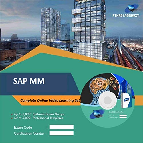 SAP MM Complete Video Learning Solution Set (DVD)