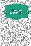 Journal Borderline: A remplir et à cocher avec le skill tracker, la courbe de tension, le mood tracker et bien d'autres choses encore   Motif : Les moules abstraites