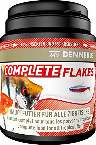 Dennerle Complete Flakes 200 ml - Hauptfutter für alle Zierfische in Flakes-Form