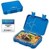 schmatzfatz junior Kinder Lunchbox, Bento Box mit variablen Fächern