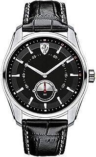Ferrari Scuderia GTB-C Men's Black Dial Leather Band Watch - 830231