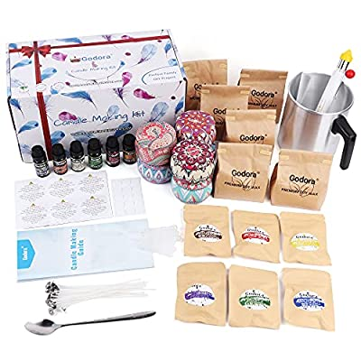 Amazon - 68% Off on Soy Candle Making Kit for Adults Beginners, Candle Making Supplies