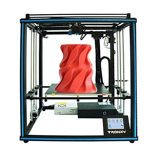 3D Printer, Stable Cubic Structure, Print Size 330 * 330 * 400mm, 3.5-inch Touch Screen Bowden Extruder Auto-Leveling Filament Run Out Detection Power Failure Resume Print Desktop DIY Fast 3D Printer