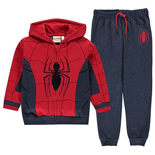 Character - Tuta da jogging per bambini in pile Spiderman 2-3 Anni