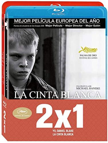 Pack - Yo, Daniel Blake / La cinta blanca [Blu-ray]