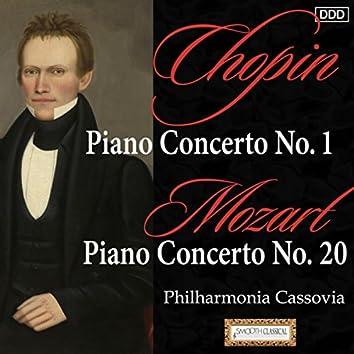 Chopin: Piano Concerto No. 1 - Mozart: Piano Concerto No. 20