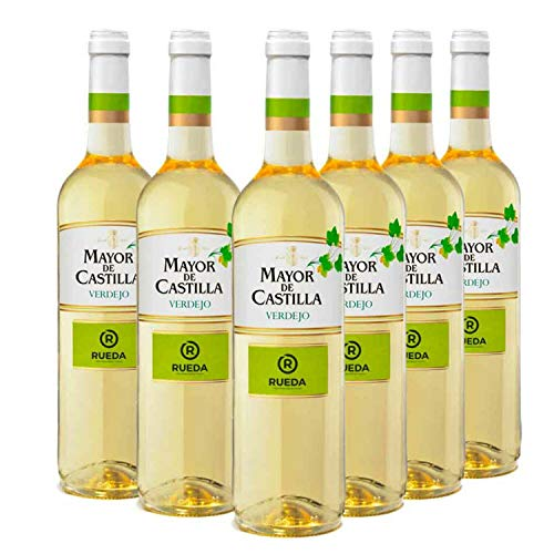 Mayor de Castilla Verdejo - Vino Blanco D.O Rueda - Caja de 6 Botellas x 750 ml