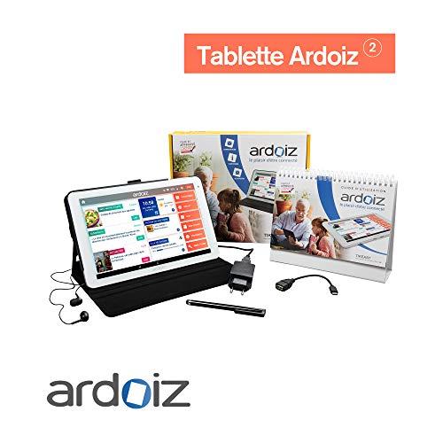 Tablette simplifiée pour Senior WiFi ARDOIZ 2 - 1 an Services et Contenu prépayé