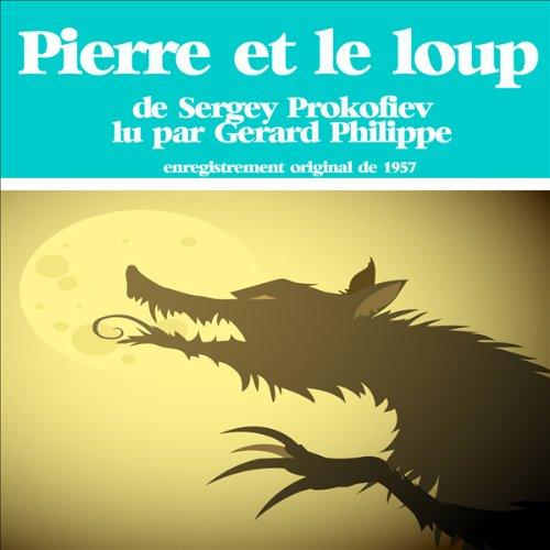 Pierre et le loup audiobook cover art
