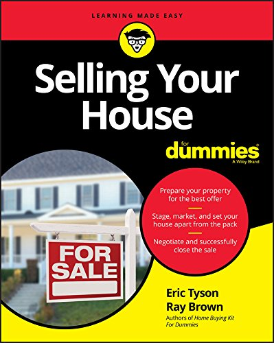 Real Estate Investing Books! - Selling Your House For Dummies (For Dummies (Lifestyle))