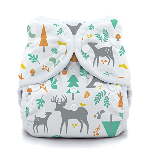 Thirsties Snap Duo Wrap, Woodland, Size Two (18-40 lbs) by Thirsties