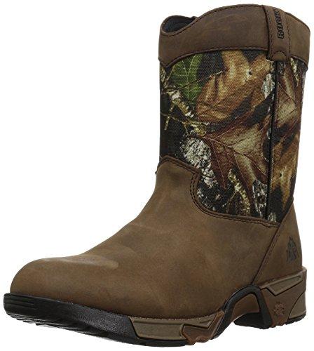 Rocky unisex child Fq0003639 Mid Calf Boot, Mossy Oak Break Up Infinity Camouflage, 6 Big Kid US