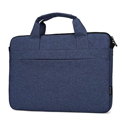 Computer Bag Laptop Tas Notebook Tas heren en vrouwen Aktetas Binnenzak Dunne Zakelijke Tas 0 深蓝色