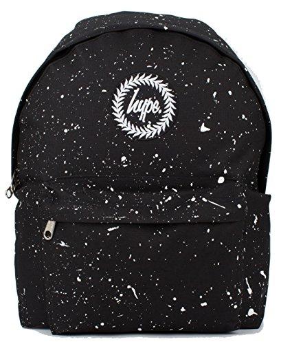 Hype Mochila | mochila moteado | color Splat Kids School Bolsas, Multi Speckled Black/White, Talla Unica