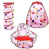 Cloudbox Baby Play Kids Baby Play Carpa Túnel Bola Piscina Diseño emergente Casa de Juegos Juguete Regalo sin Olor