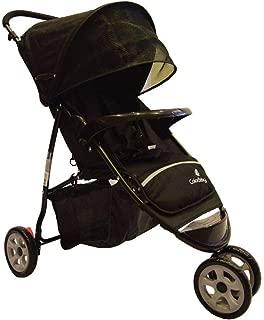 Carrinho De Bebê Passeio 3 Rodas Speed Preto - Color Baby