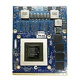 Modelo de repuesto de tarjeta gráfica de vídeo 2GB: para NVIDIA GeForce GTX 860M, para Alienware M15X M17X R2 R4 R5 M18 R1 R2 Laptop Dell HP Mobile Workstation, N15P-GX-B-A2 GDDR5 GPU MXM VGA Junta