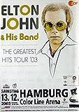 JOHN, ELTON - 2003 - Konzertplakat - Tourposter - Concert -
