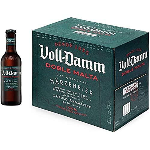 Damm Cerveza VollDamm Doble Malta Estilo Märzenbier, 12 x 25cl