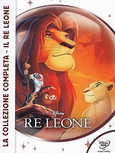 il re leone - la collezione completa (3 dvd) (new classic edition) box set dvd Italian Import by animazione