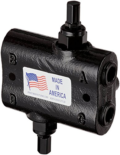 Prince Double Relief Cushion Valve : No. DRV-4HH,Max 30 GPM 1500-3000 PSI Adjustable Range and Max PSI Upto 3000 with 1/2