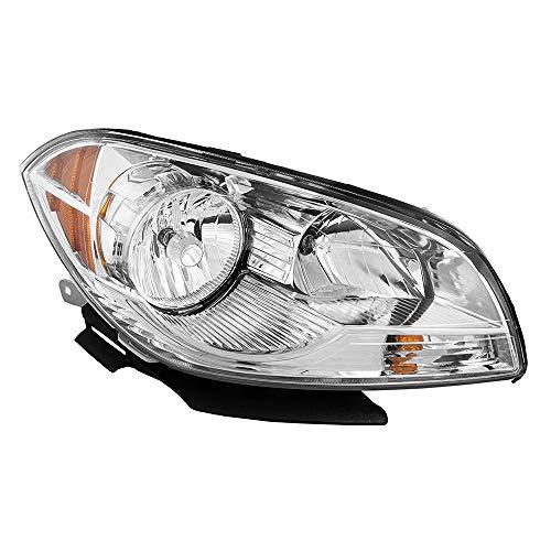 Epic Lighting OE Fitment Replacement Headlight Assembly Compatible with 2008-2012 Chevrolet Malibu Malibu Hybrid [GM2503307 25872861] Right Passenger Side RH