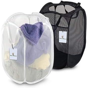 Kuber Industries 2 Piece Mesh Laundry Basket Set