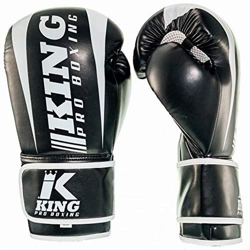 King PRO Boxing Boxhandschuhe, Revo 1, schwarz Größe 10 Oz