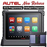 Autel MaxiSys Ultra Automotive Scan Tool, The Most High-End Autel Diagnostic Scanner Features J-2534 ECU Programming / VCMI Module / 36+ Service Functions / TPMS