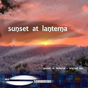 Sunset at Lanterna