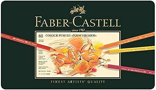 Farbstift Faber-Castell Polychromos 60er Metalletui