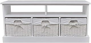 Storage Bench Aarau - White