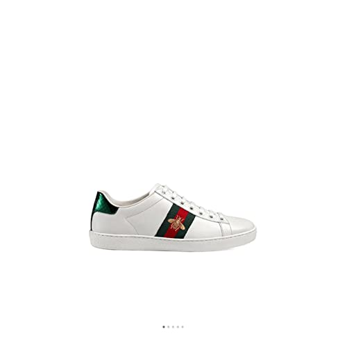 e8b8205a954 Simple-Gucci New Style Women's Shoes Leather Embroidery Small Bee Sports  Shoes Casual Shoes White