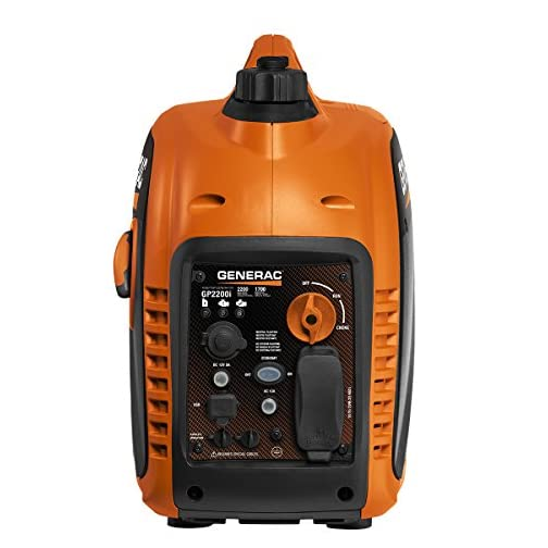 Generac 7117 GP2200i 2200 Watt Portable Inverter Generator - Parallel Ready 4