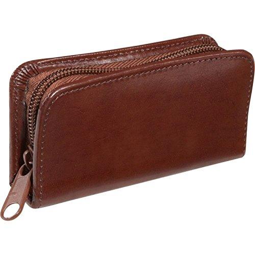 Royce Leather Executive Chrome Plated Aristo Mini Manicure Kit, Tan, One Size