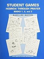 Hebrew Through Prayer - Game Book 0874416590 Book Cover