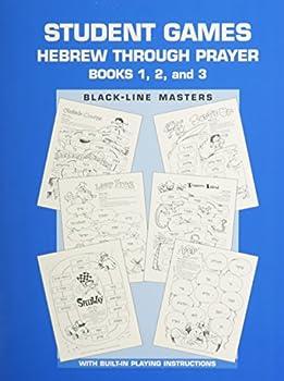 Paperback Hebrew Through Prayer - Game Book