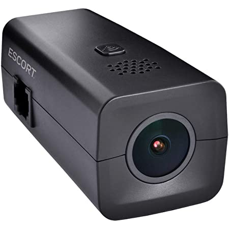 Escort M1 Dash Camera - 1080p Full HD Video Dash Cam, Loop Recording, G-Sensor, 16GB Micro SD Card Included, iPhone and Android Compatible