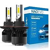 NAO H13 9008 LED Headlights Bulb Conversion Kit, Super Bright 60W/pair 30w/bulb 6400LM